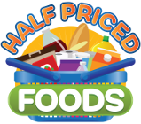 Groceries at half the price!